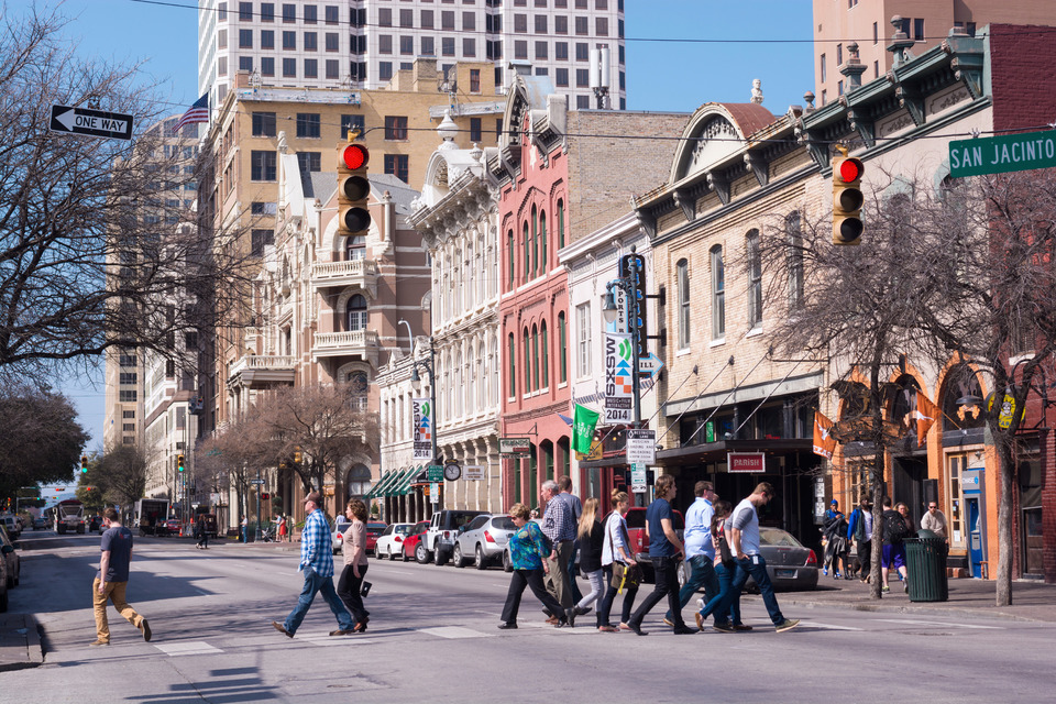 Sixth Street Downtown Austin