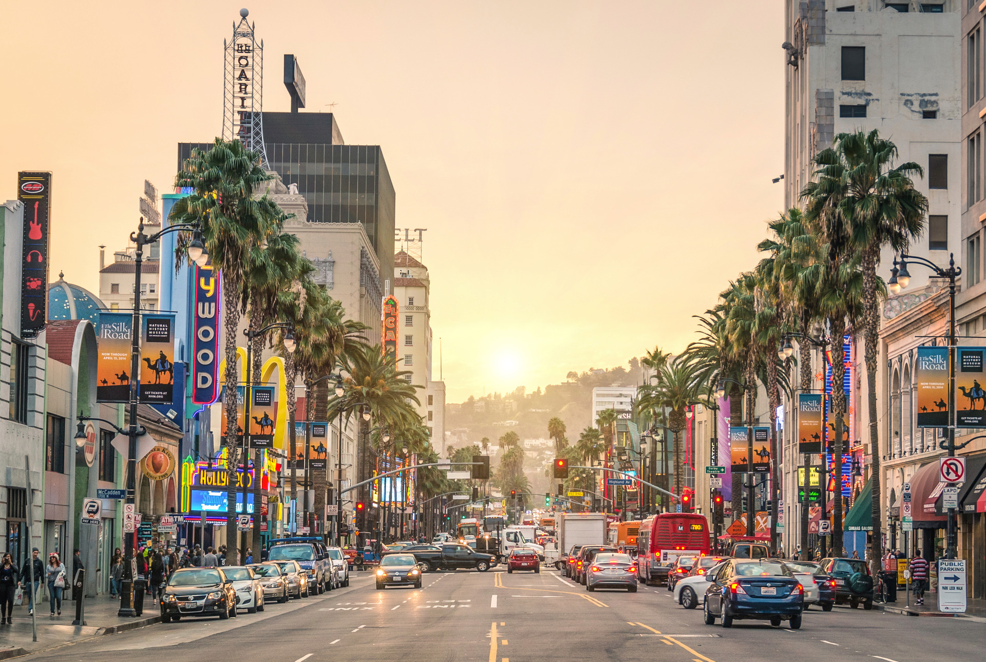 Walk of Fame Hollywood Boulevard